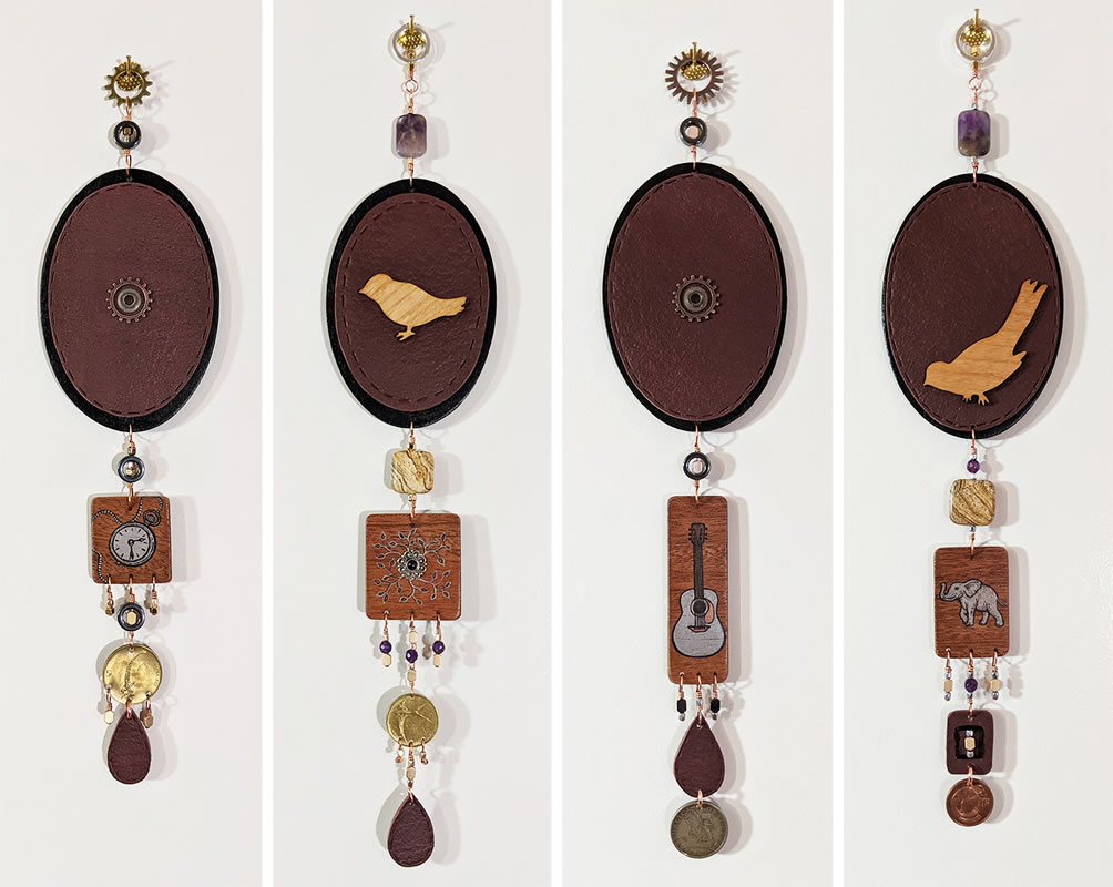 Wall Jewelry Parts 1-4